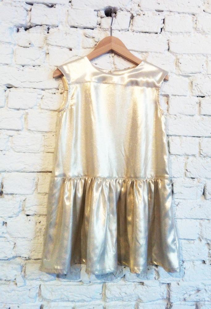 jurk sweet gold van maan T2 LAATSTE MAAT