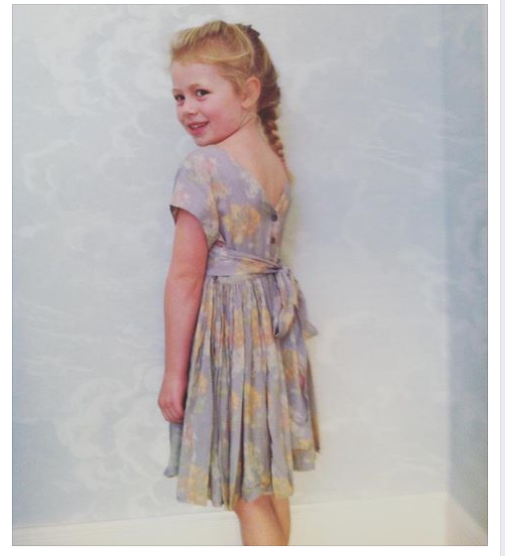 dress dorothy hortense lilac
