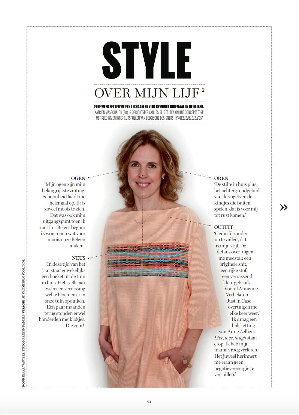 Dans les médias: De Standaard dS Magazine